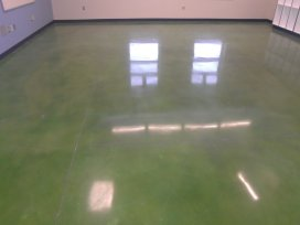 The Two Sides of Metallic Flooring