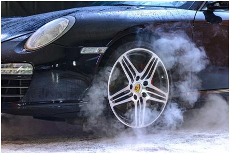 tire burn