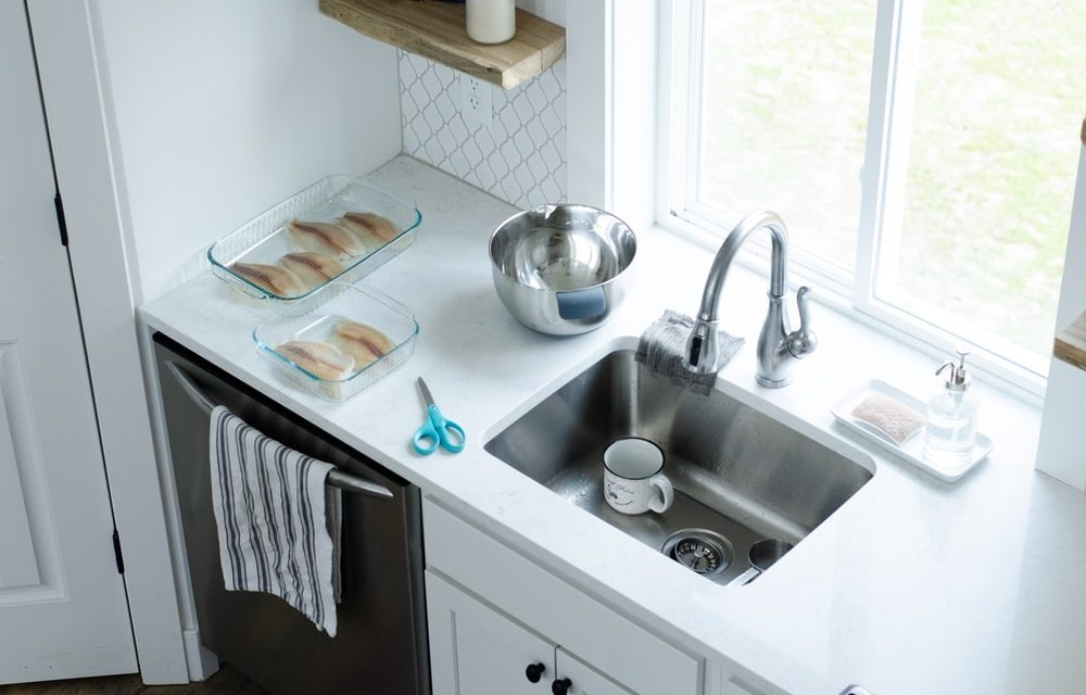 How To Clean Your Kitchen Sink & Garbage Disposal Unit