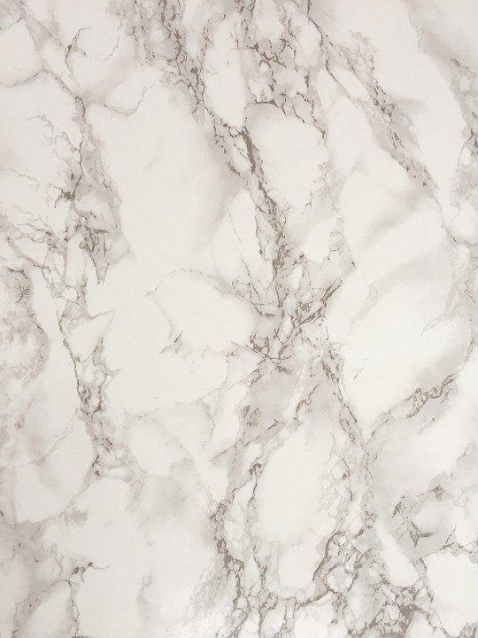 white and grey streaks in marble