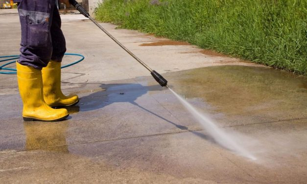 3 Surfaces Safe to Clean with Pressure Washer